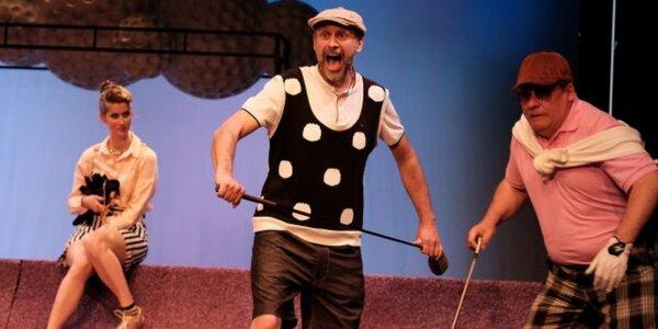 Vstupenka na komedii Dvě noci na Karlštejně