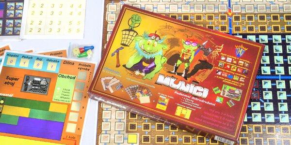 Rodinná stolní hra Muníci pro 2–4 hráče od 8 let