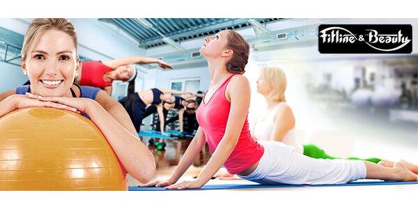 Pilates či body form. Permanentka na 2 měsíce!