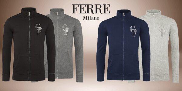 Pánské mikiny na zip Gianfranco Ferré