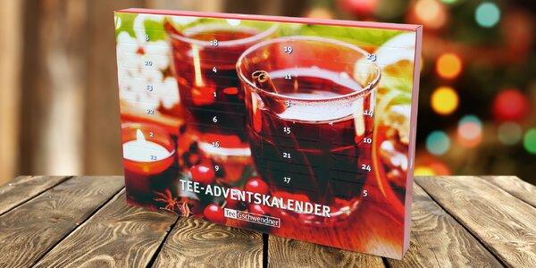 Adventní čajový kalendář: sypaný čaj na každý den