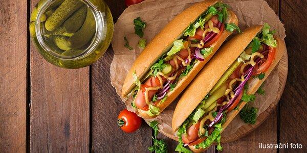 1 nebo 2 Hotdogy Speciál z kvalitních surovin