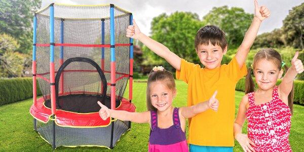 Dětská zahradní trampolína o průměru 140 cm