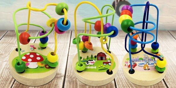 Dětské labyrinty pro rozvoj jemné motoriky