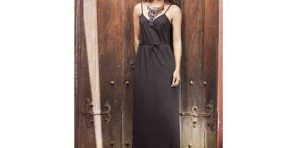 Dámské černé plážové šaty Kibys
