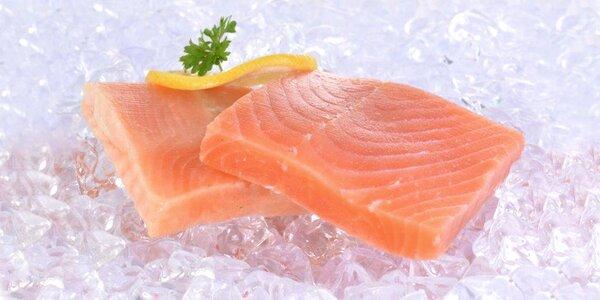 400 g filé z lososa: zcela bez kostí a bez chemie