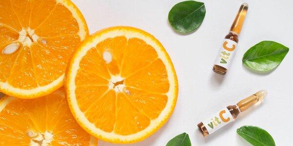 Infusní terapie vitamínem C pro lepší imunitu