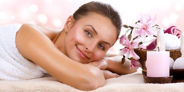 1,5 hod. relaxace při celotělové masáži