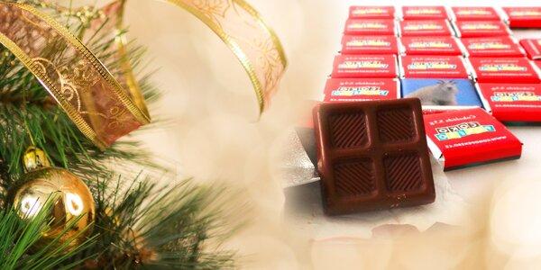 Čokoládové pexeso z vlastních fotografií