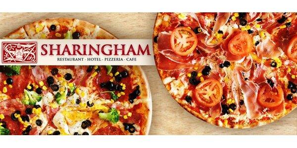 """145 Kč za DVĚ velké """"odpolední"""" pizzy dle vlastního výběru."""