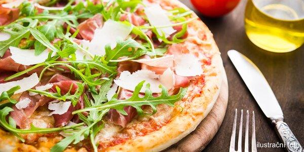 Jedna nebo dvě pizzy v restaurantu Plaudit