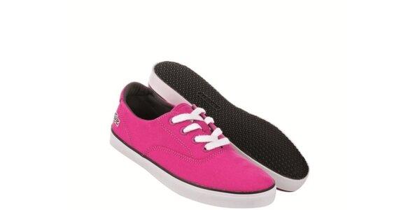 Dámské růžové tenisky Lacoste