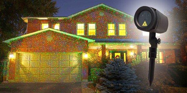Vnitří i venkovní laserové osvětlení