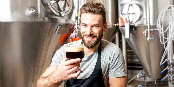 Prohlídka Hanáckého pivovaru včetně ochutnávky