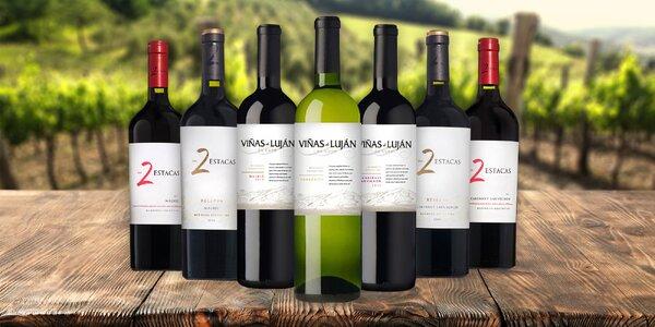 Viñas Argentina: výborná vína z Jižní Ameriky