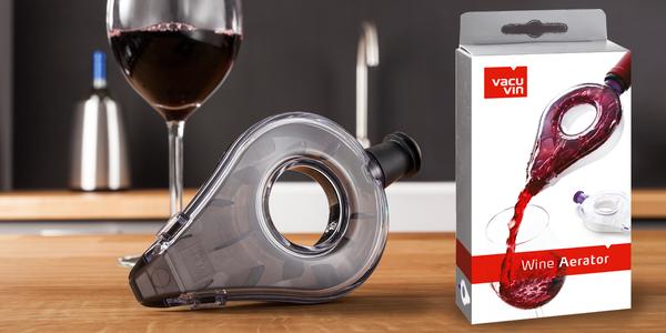 Sety VacuVin pro milovníky vína a koktejlů