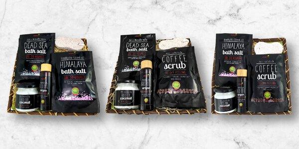 Dárkové koše pro bio lidi: oleje i koupelová sůl