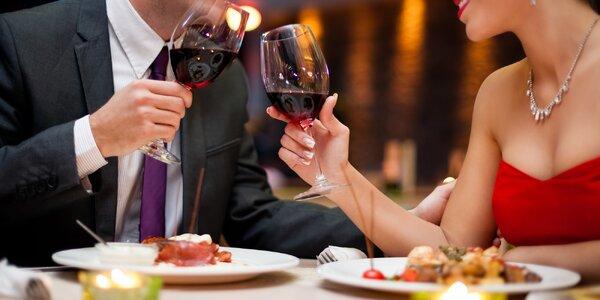 Romantika ve mlýně: výtečné 3chodové menu pro 2