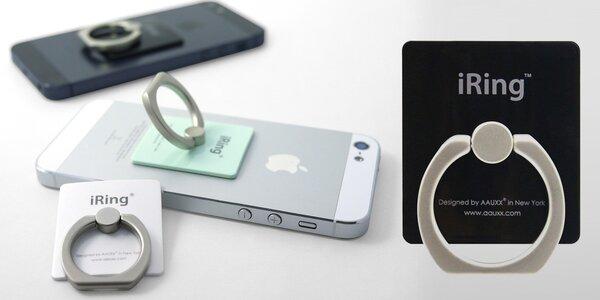 iRing geniální prstýnek proti pádům telefonu