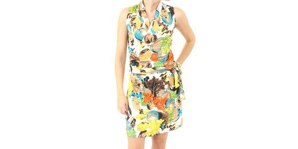 Dámské barevné vzorované šaty Smashed Lemon