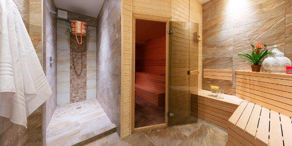 Privátní wellness se saunou a vířivkou