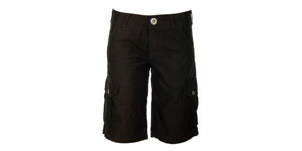 Dámské černé šortky s kapsami Fundango