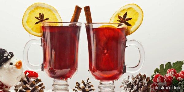Na zahřátí: Svařáček či jiný horký nápoj pro 2