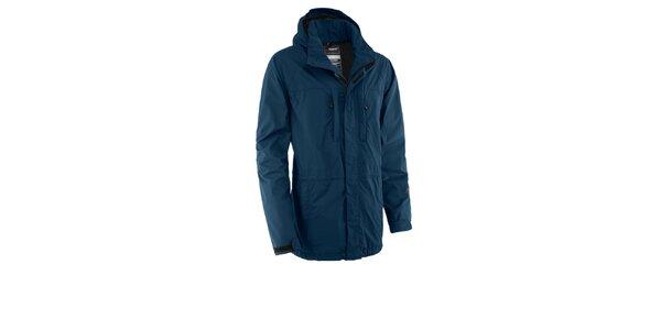 Pánská modrá nepromokavá bunda Maier s membránou