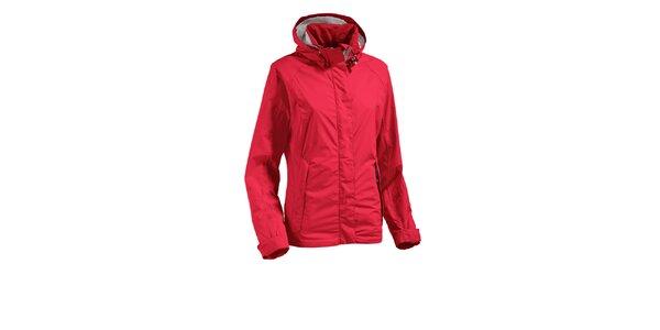Dámská červená bunda Maier s nepromokavou membránou