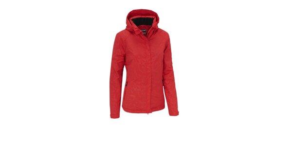 Dámská červená nepromokavá bunda Maier s membránou