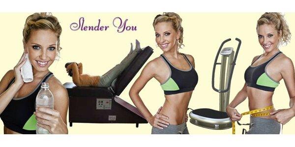 149 Kč za TŘI hodiny cvičení na zeštíhlovacích stolech Slender You!