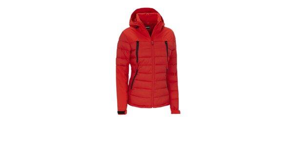 Dámská červená funkční outdoorová bunda Meier