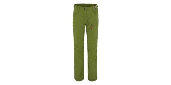 Dámské zelené outdoorové funkční kalhoty Maier