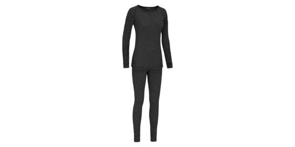Set dámského funkčního prádla Maier v tmavě šedé barvě