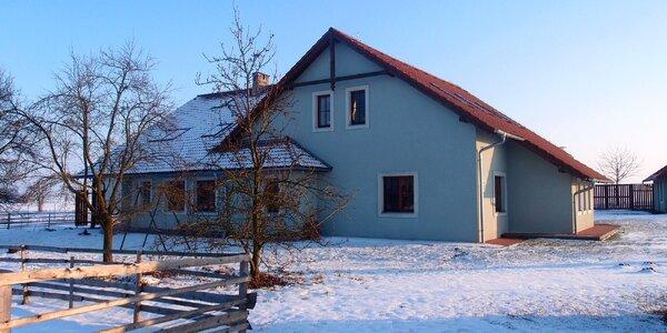 Pohodový pobyt v prostorné vile v jižních Čechách