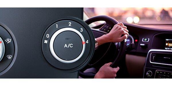 Kontrola, čištění i plnění klimatizace vozu