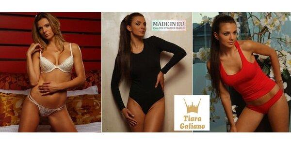 299 Kč za luxusní spodní prádlo Tiara Galiano v hodnotě 600 Kč