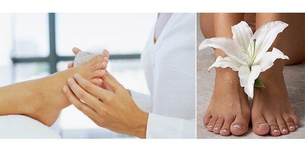 125 Kč za luxusní celkovou pedikúru a příjemnou masáž nohou.