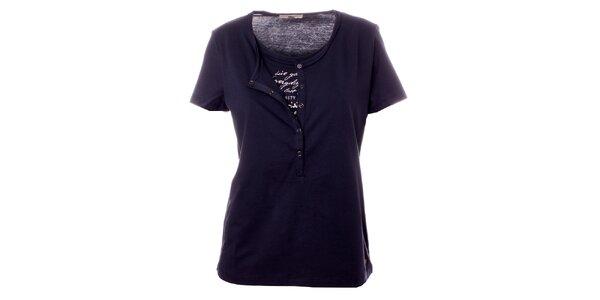 Dámské tmavě modré tričko