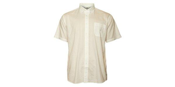 Pánská bílá košile TBS