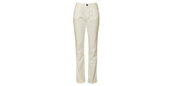 Dámské bílé chino kalhoty TBS