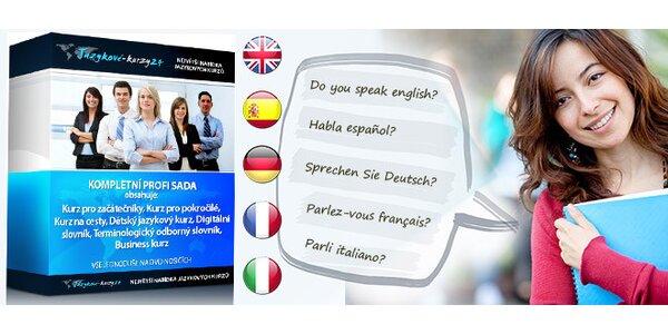 Profi sada pro domácí studium cizího jazyka - 16 řečí na výběr