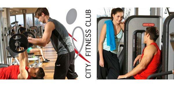 3 neomezené vstupy do City Fitness Clubu