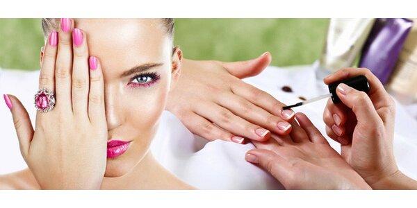 Manikúra, P-Shine nebo nové gelové nehty