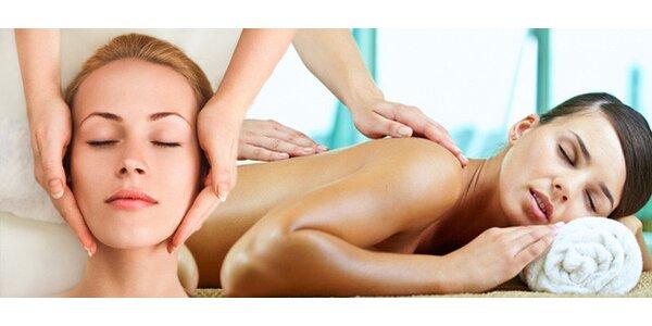 30minutová masáž dle výběru
