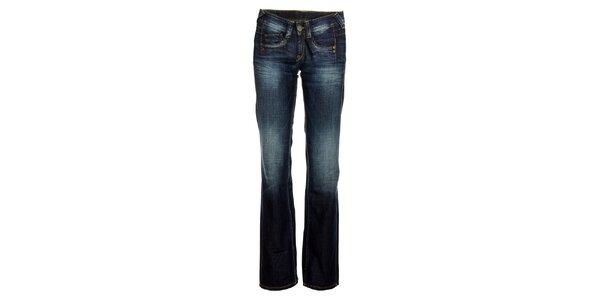 Dámské modré džíny s šisováním Pepe Jeans