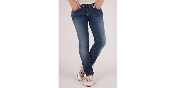 Dámské modré elastické džíny Pepe Jeans