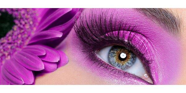 Prodlužování řas kvalitní značkou Blink Lashes - extra plný vzhled