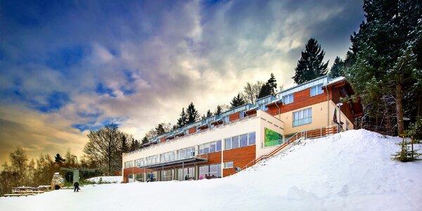 Pobyt v hotelu Monínec s wellness i lyžováním