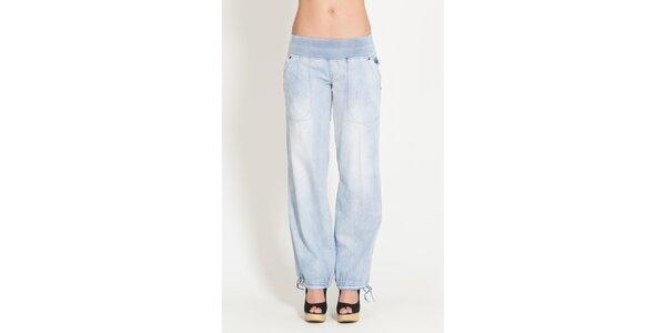 Dámské světle modré široké džíny Lois